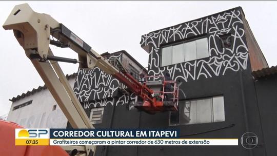 Corredor cultural em Itapevi