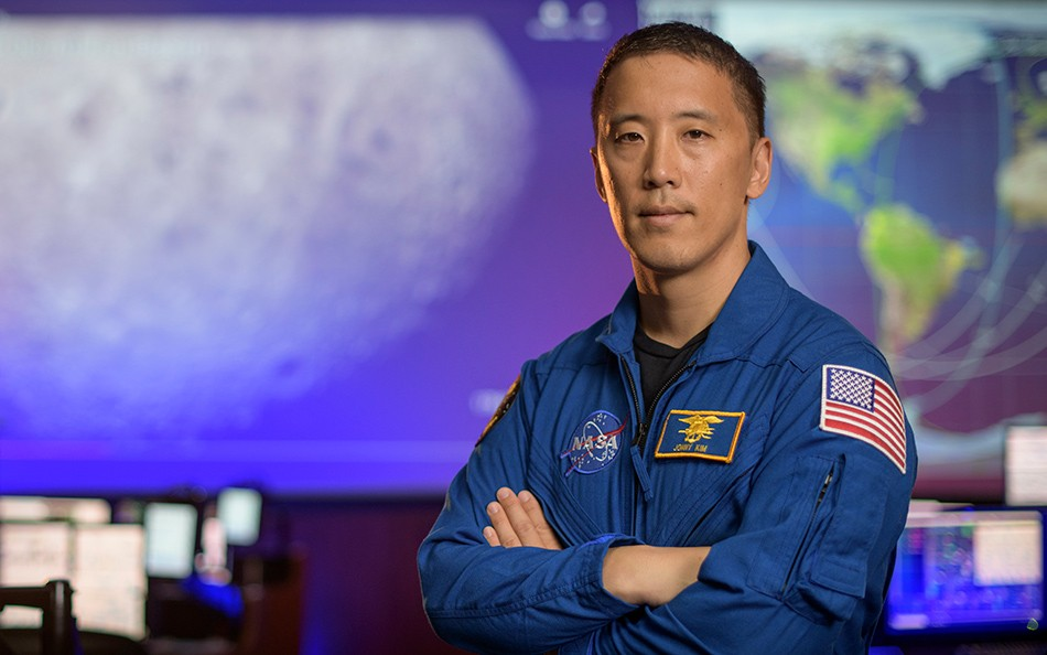 Johnny Kim (Imagem: NASA / Bill Ingalls)