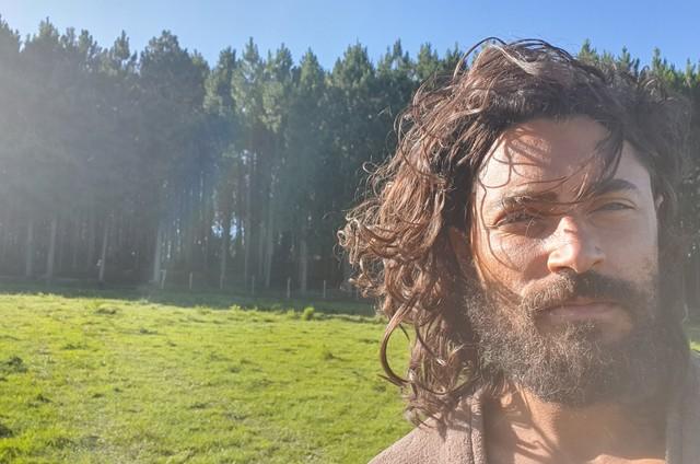 """Carlo Porto, que fará o Adão em """"Gênesis"""" (Foto: Arquivo pessoal)"""