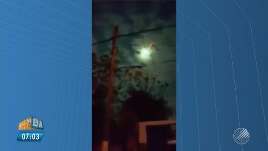 Clarão é visto no céu da Bahia; astrônomo fala em meteoro