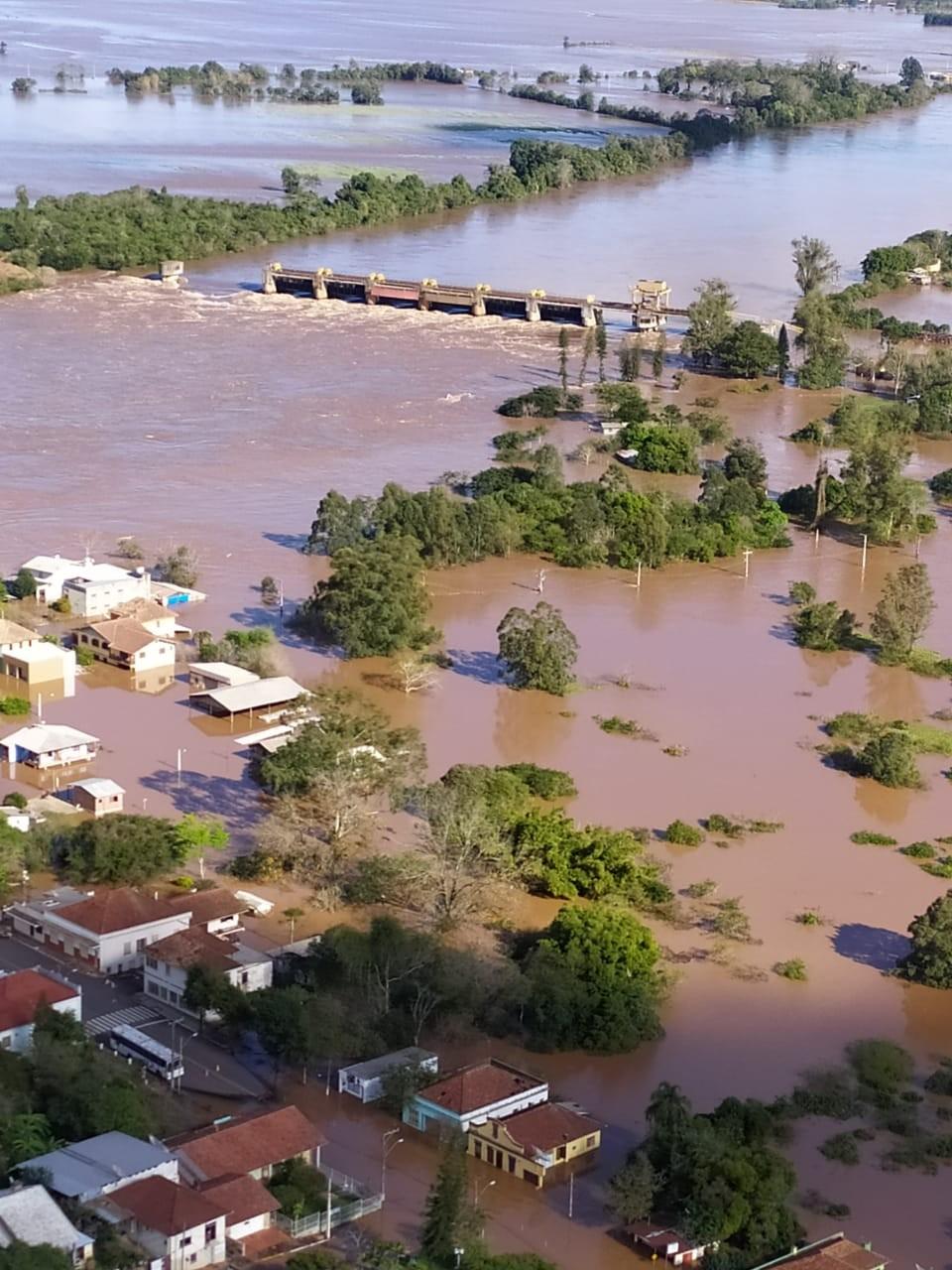 Defesa Civil do RS alerta para chances de enchente de enchente em 17 cidades