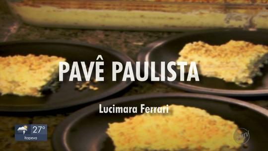 Fernando Kassab mostra como fazer um delicioso pavê com amendoim