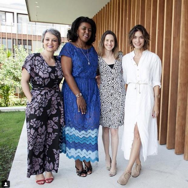 Rachel Maia, CEO da Pandora, Daniela Cachich, VP de marketing da Pepsico Brasil, Barbara Galvão, do Movimento Mulher 360, e Laura Ancona, diretora de redação de Marie Claire (Foto: Charles Naseh)