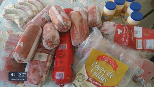 Vigilância Sanitária recolhe amostras de carnes vencidas em Carmo de Minas, MG