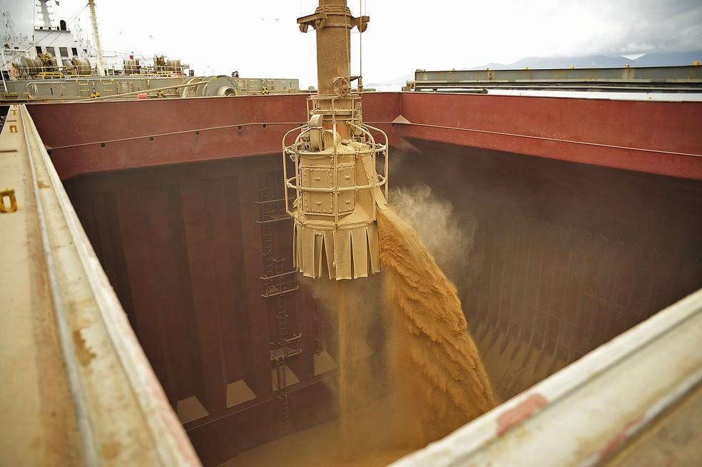 Brasil é o principal fornecedor de soja da China — Foto: Appa/Divulgação