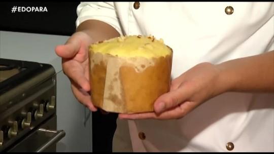 É do Pará ensina uma deliciosa receita de panetone regional para o Natal