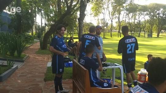 Por dentro do treino: Londrina deve ter Germano contra a Ponte e apresenta novo atacante