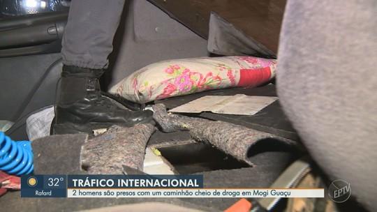 Polícia apreende 191 kg de pasta base de cocaína em Mogi Guaçu; droga iria para Europa, diz PM