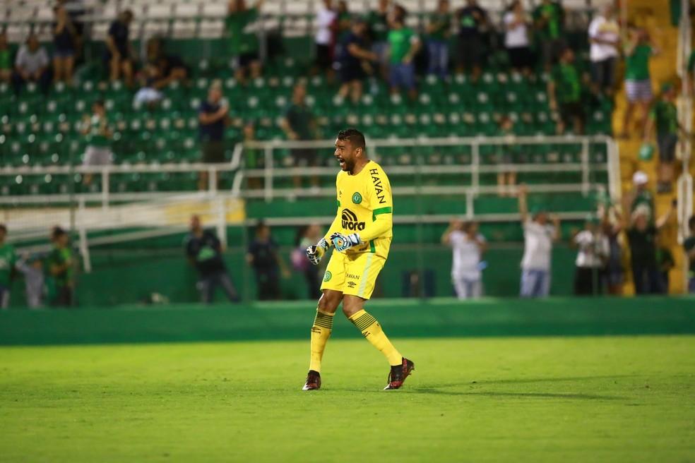 Ivan foi contratado pela Chapecoense em 2018 — Foto: Marcio Cunha/Chapecoense