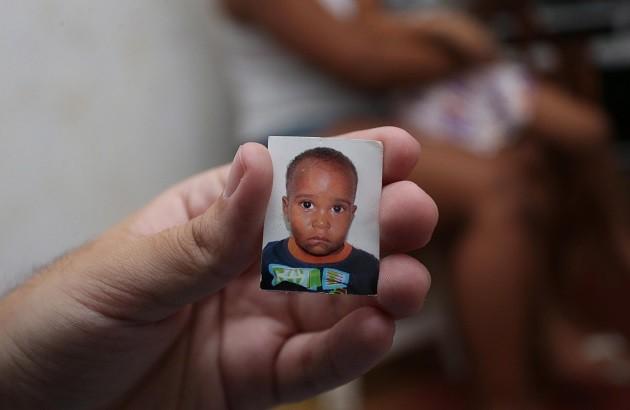 Juan Bruno Gomes Nunes, de 2 anos, foi morto após ser atingido por uma bala perdida em janeiro, na Favela do Metrô, na Zona Norte do Rio
