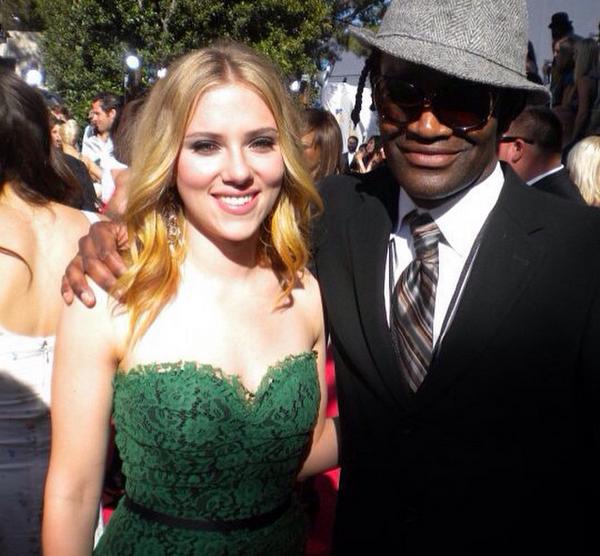 Terry Bryant com Scarlet Johansson (Foto: Instagram)