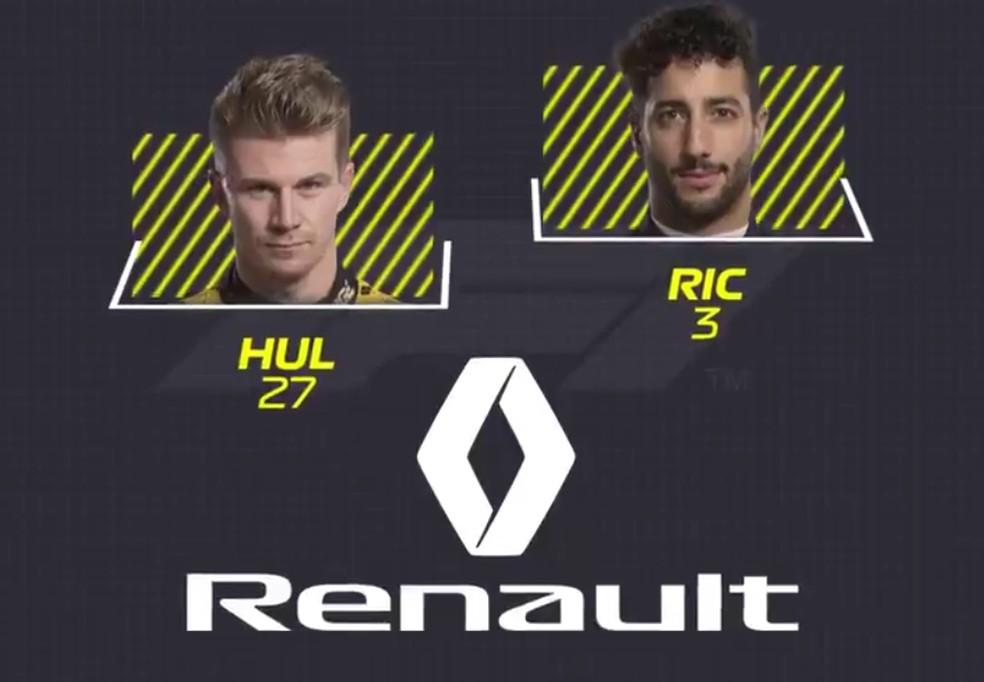 Renault — Foto: Reprodução