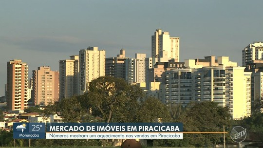 Piracicaba encerra 1º trimestre com alta de 6,3% no número de imóveis disponíveis, diz Secovi-SP