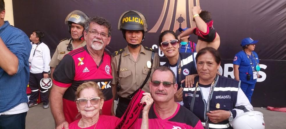 Torcedora também assistiu à final da Libertadores — Foto: Arquivo Pessoal