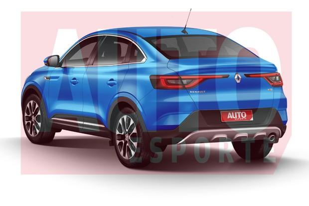 Estilo do novo crossover adota a linguagem de estilo da Renault europeia (Foto: João Kleber Amaral/Autoesporte)