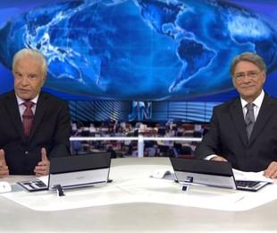 Cid Moreira e Sérgio Chapelin | Reprodução