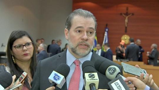 Criticado, Toffoli diz que suspensão de inquéritos é 'defesa do cidadão'