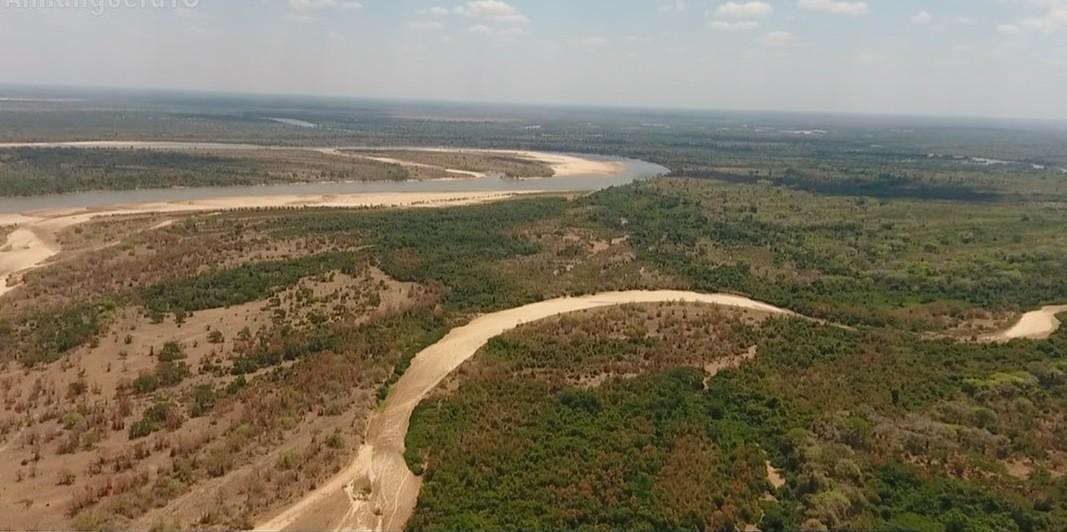 Rios que formam a maior ilha fluvial do mundo estão praticamente secos no Tocantins - Notícias - Plantão Diário