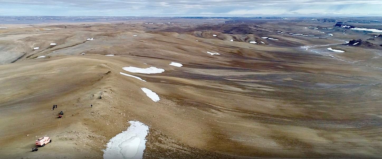 A ilha de Devon é localizada no Ártico do Canadá (Foto: Pascal Lee/ Divulgação)