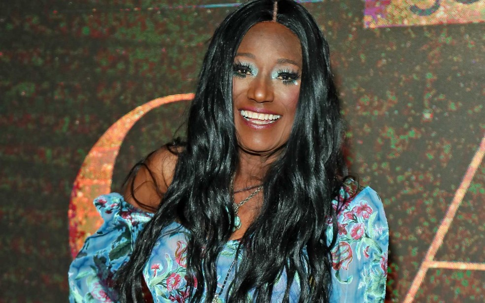 Bonnie Pointer em 10 de abril de 2019, em Los Angeles. — Foto: Leon Bennett / GETTY IMAGES / AFP Photo