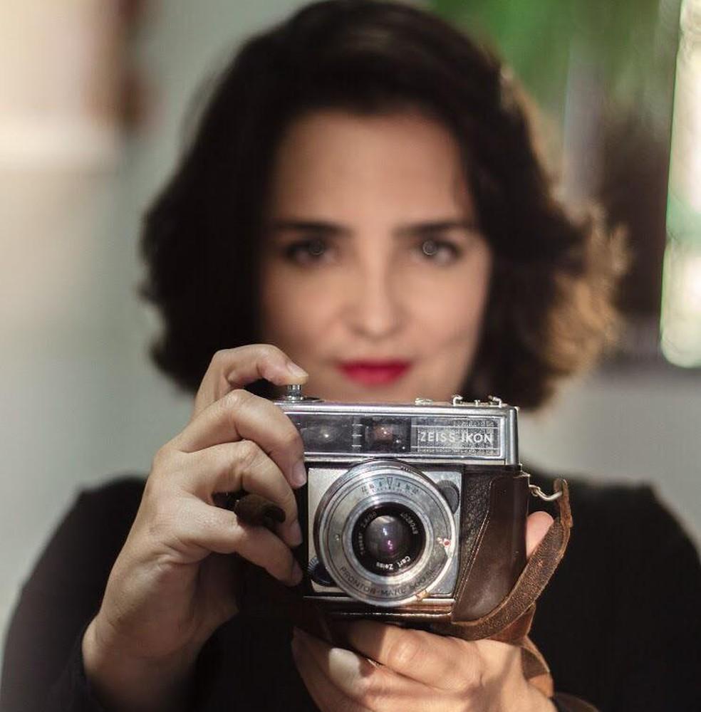 """Mostra """"Pela Esplanada"""" da fotógrafa Naiara Pontes fica em cartaz até 19 de abril. — Foto: Jacqueline Lisboa"""