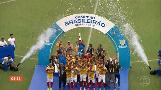 Pela primeira vez na história, o Brusque conquista o título da Série D do Brasileirão