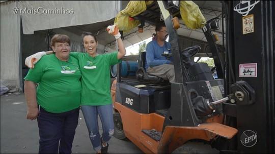 'Por Um Dia': acompanhe a rotina dos coletores de material reciclado