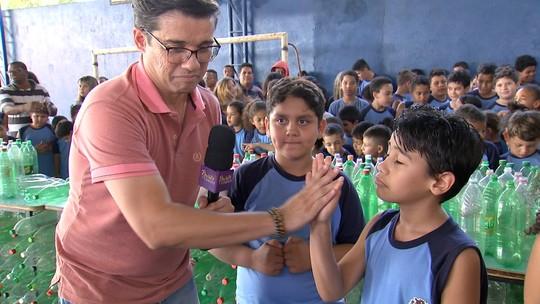 Escolas de Ipaussu promovem competição para arrecadar recicláveis