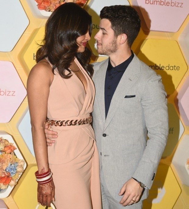 Priyanka Chopra e Nick Jonas (Foto: Backgrid)