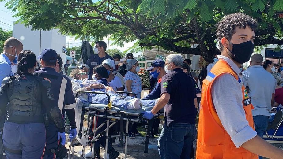 Incêndio atinge ala Covid de hospital na Zona Norte de Aracaju; há feridos