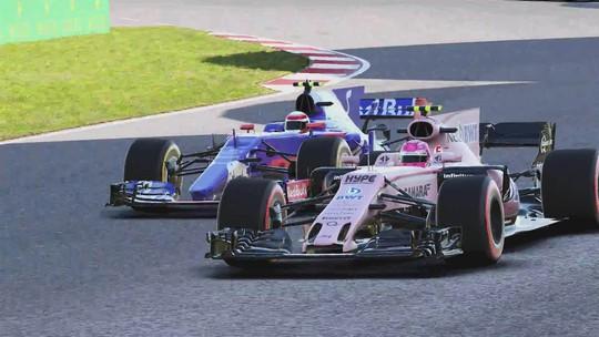 Vídeo de F1 2017 traz as novidades do game e carros clássicos em ação