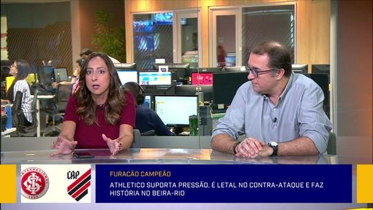 "Jornalista exalta feito do Athletico ao eliminar favoritos na Copa do Brasil: ""Conquista ainda maior"""