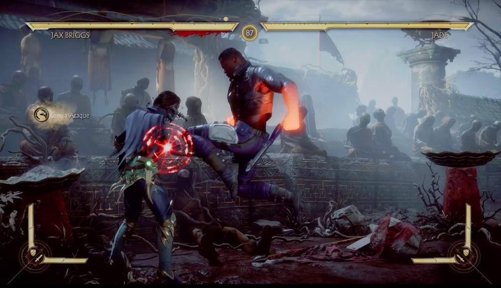 Jogabilidade de Mortal Kombat 11 atende às expectativas — Foto: Reprodução / TechTudo
