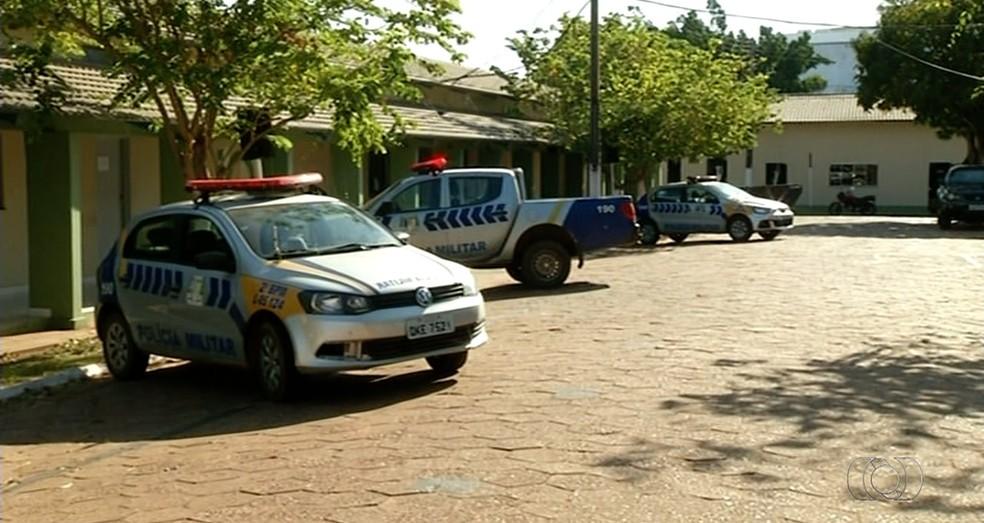 MPE questiona o número de efetivo da Polícia Militar em Araguaína (Foto: Reprodução/TV Anhanguera)