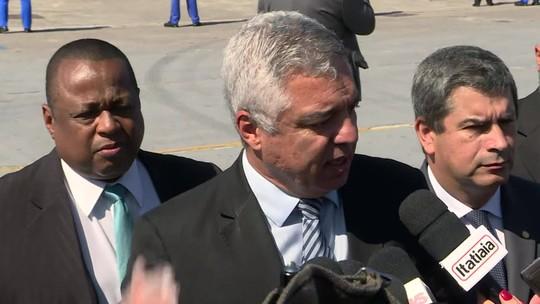 Major Olímpio sobre ministro do Turismo: 'Já teria pedido para sair'