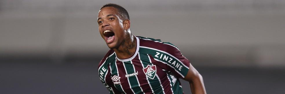 Caio Paulista, do Fluminense — Foto: Staff Images/Conmebol