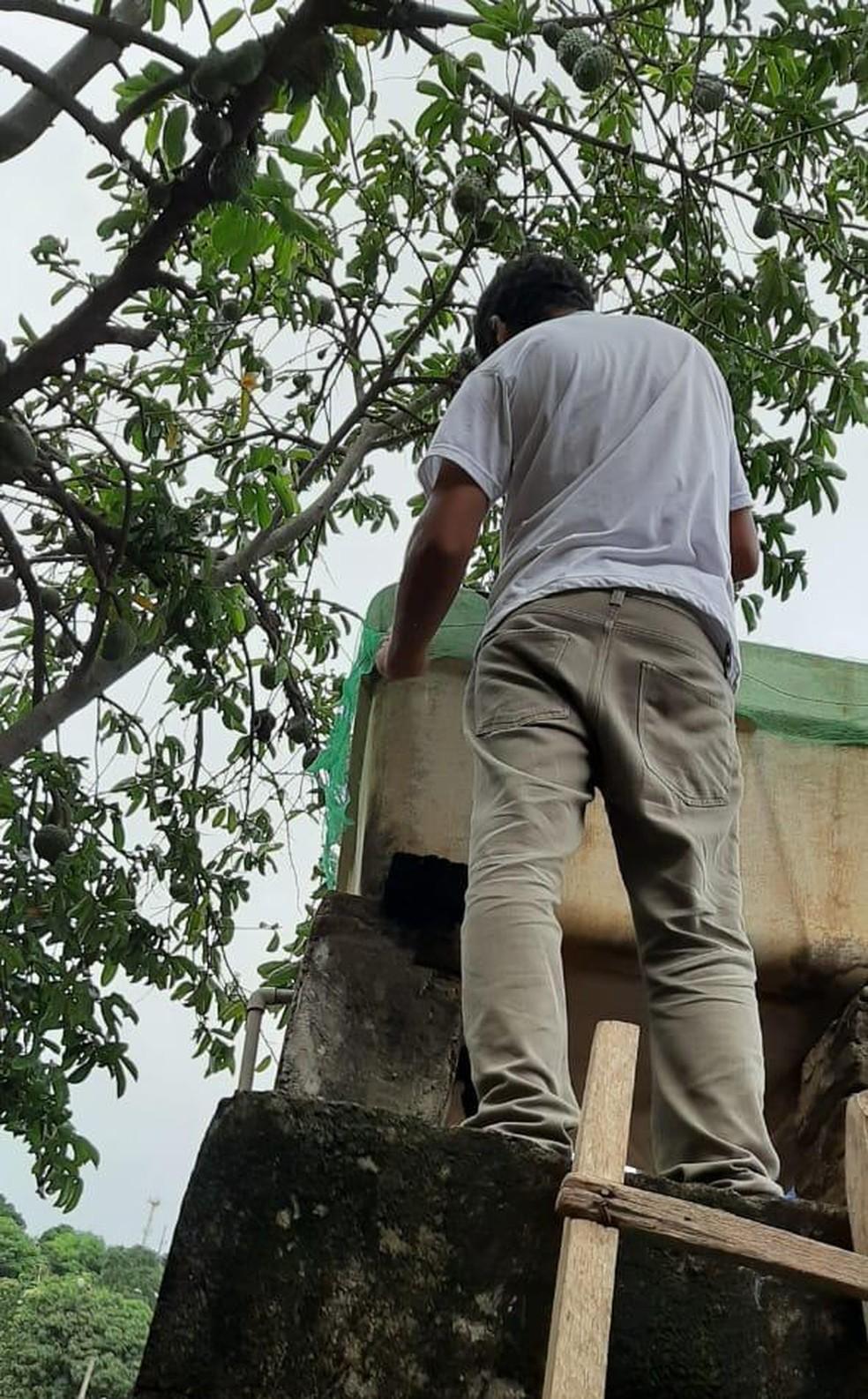 Prefeitura adquiriu telas para tampar os reservatórios — Foto: Prefeitura/ Divulgação