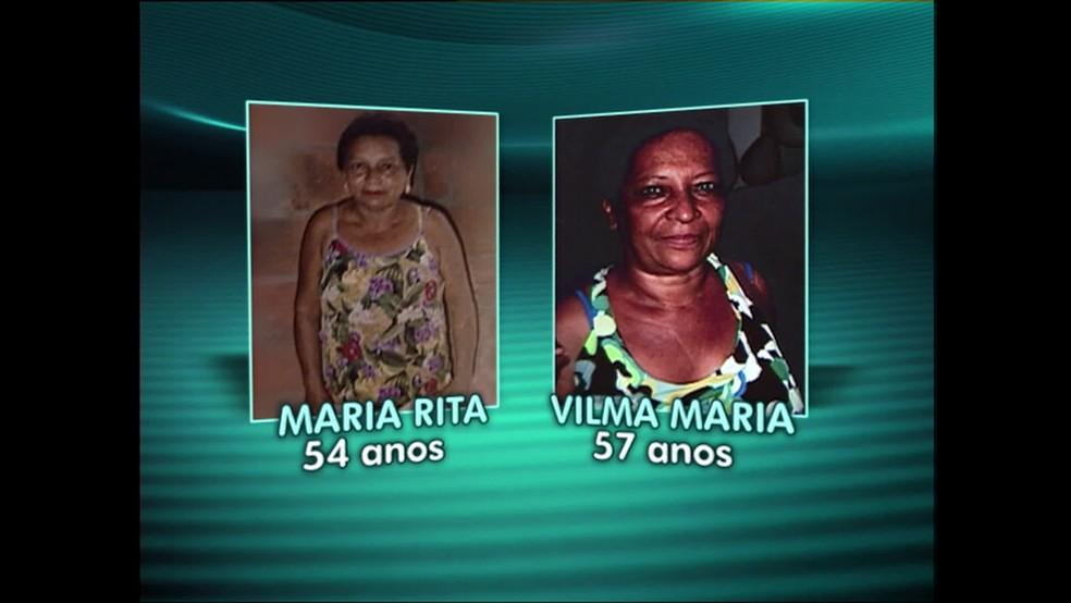 Maria Rita e Vilma, as duas mulheres trocadas em uma unidade de saúde de São Gonçalo, na Região Metropolitana do Rio (Foto: Reprodução/ TV Globo)