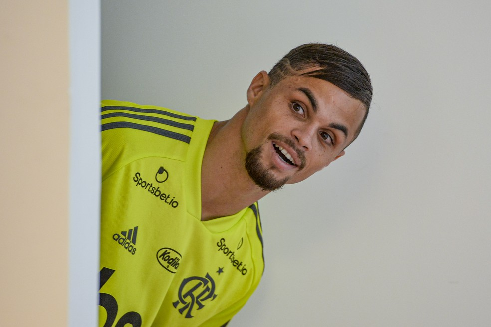 Al Ain avalia nova cartada por Michael — Foto: Marcelo Cortes/Flamengo