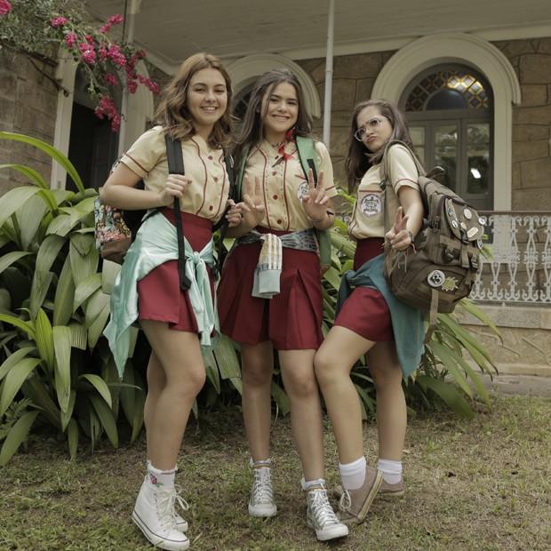 Klara Castanho, Maisa Silva e Mel Maia (Foto: Divulgação)