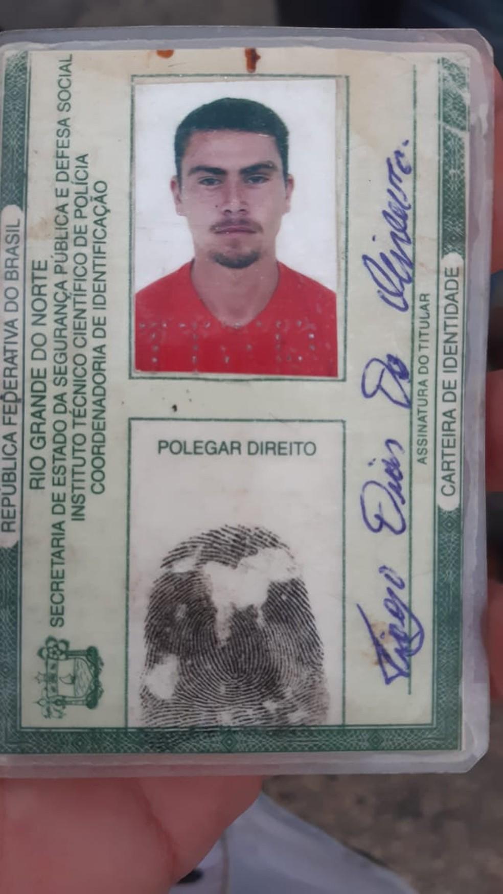 Thiago Dias de Oliveira tinha 33 anos — Foto: Sérgio Henrique Santos/Inter TV Cabugi