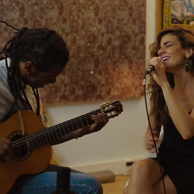 Mariana Aydar e Feijuca (Foto: Divulgação)
