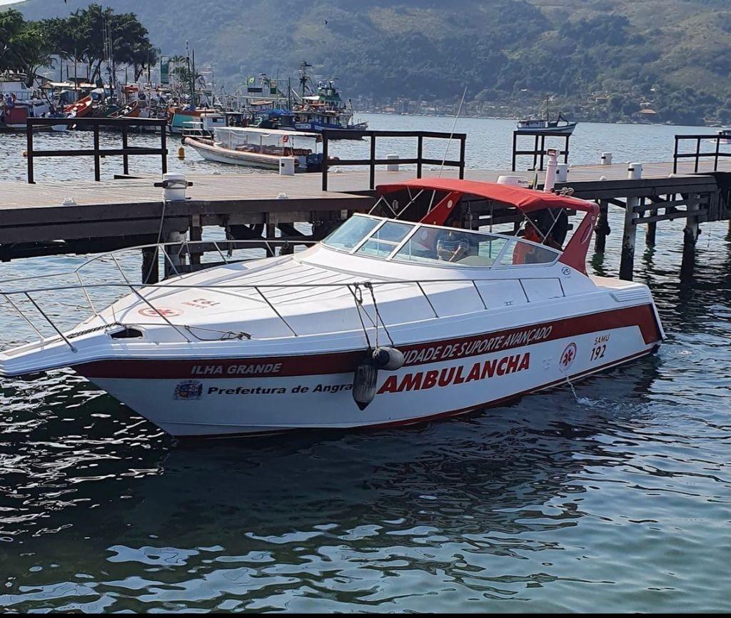 Angra dos Reis ganha 'ambulancha' para dar suporte em atendimentos médicos nas ilhas