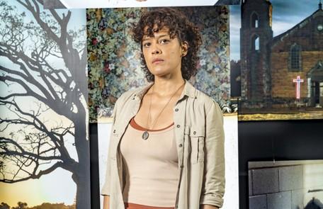 Na quarta (22), Zenaide (Maeve Jinkings) será assassinada por Vicente (Álamo Facó) e suas filhas serão separadas uma da outra Rede Globo / João Miguel