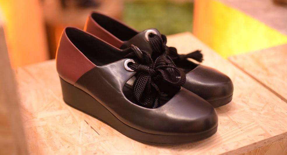 22c629e5f ... Arezzo lança nova marca de sapato com foco em conforto — Foto: Gustavo  Menasce /