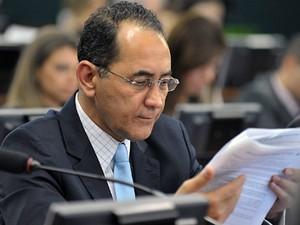 O deputado João Paulo Cunha (PT-SP), em sessão da CCJ da Câmara (Foto: Luis Macedo/Ag.Câmara)