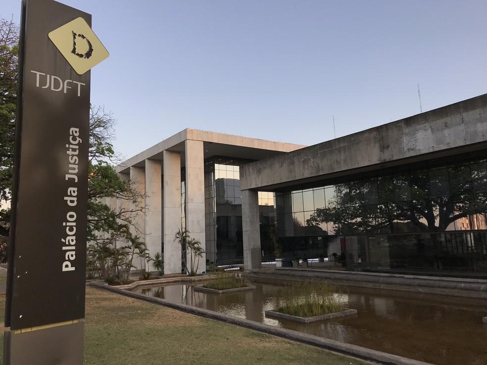 Palácio da Justiça — Foto: Nicole Angel/ G1 DF