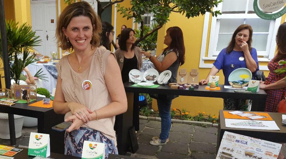 Evento de lançamento dos produtos criados na edição do ano passado do SouCuritiba (Foto: Divulgação)