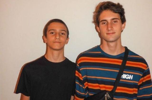 Vicente Brichta e Felipe Ricca (Foto: Reprodução)