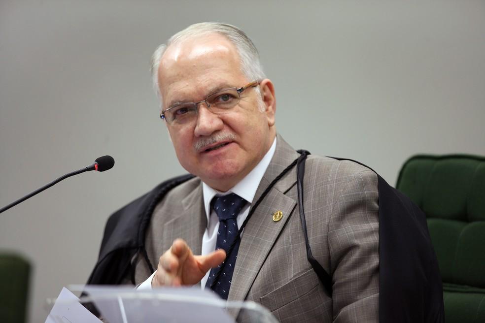 O ministro Edson Fachin, do Supremo Tribunal Federal (Foto: Nelson Jr./SCO/STF)